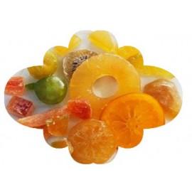 Mix Fruta cristalizada decoração bolo rei 300 gr.