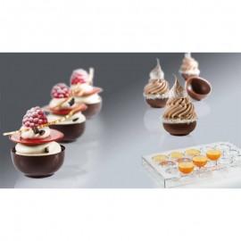 Molde policarbonato copo chocolate Martellato