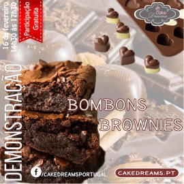 Demonstração Bombons e Brownies 16/02/2017