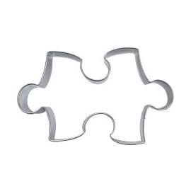 Cortante revestido estanho 6 cm peça puzzle - Stadter