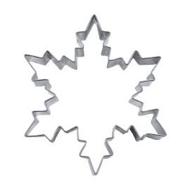 Cortante em metal 6,5 cm floco neve - Stadter
