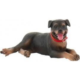 Cão Rotweiler - Bullyland - animais domesticos
