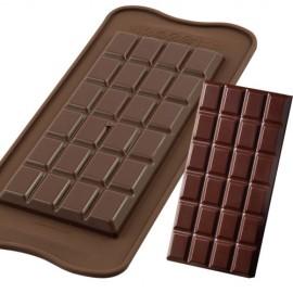 Molde Silicone Bombons tablet chocolate Silikomart