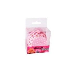 Petifur cupcake rosa bébé 50 unid. Silikomart
