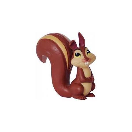 Esquilo Kiki princesa Sofia- Bullyland - animais selvagens