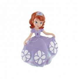 Princesa PVC Sofia a fazer vénia 6,5 cm