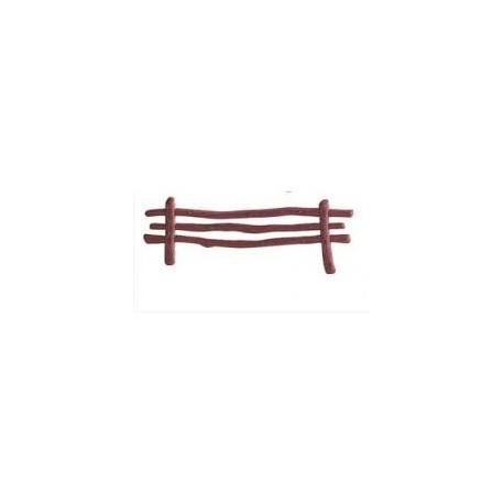 Cerca - vedação castanha PVC dekora - unid.