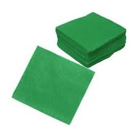 Guardanapo papel verde escuro 33x33 cms