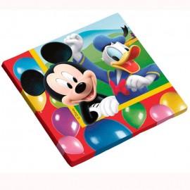 Guardanapo papel Mickey 33x33 cms