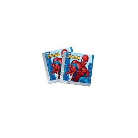 Guardanapo papel Homem aranha 33x33 cms