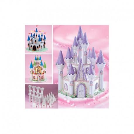 kit 32 peças castelo - Wilton