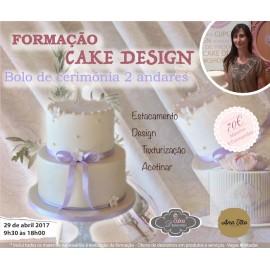 Formação Cake Design - Bolo de cerimónia 2 andares