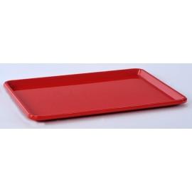 Tabuleiro self-service com 480x370 mm vermelho