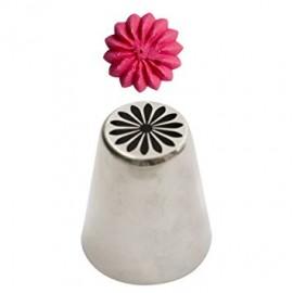 Bico pasteleiro flor margarida creme nº 31 decora