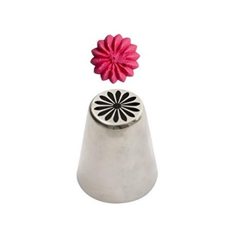 Bico pasteleiro flor margarida creme nº31 decora