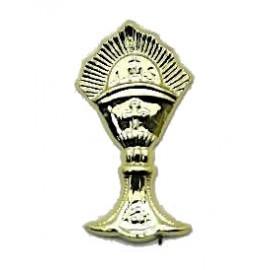 Cálice mini dourado com 3 cm comunhão