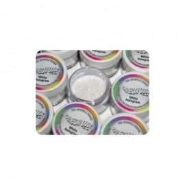 Purpurina hologram branco 5 g rainbow dust