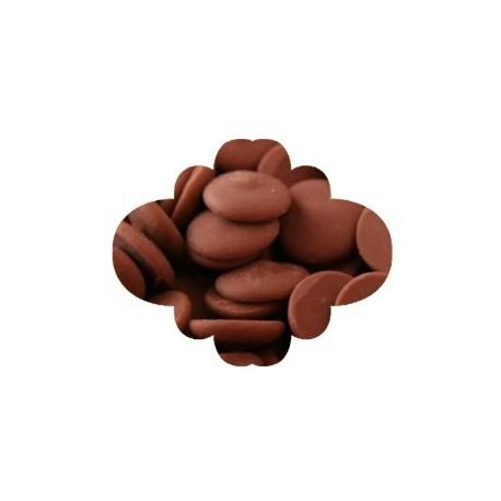 Pastilha chocolate de leite 250 gr.