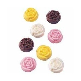 Molde Bombons rosas Wilton