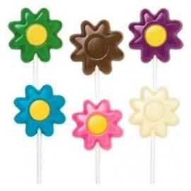 Molde Bombons Lollipops margaridas Wilton