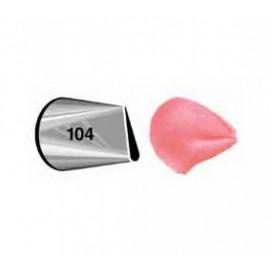 Bico (boquilha) pétala 104 Wilton