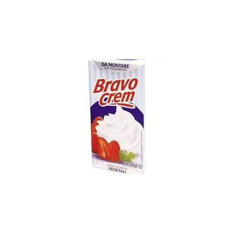 Natas (chantily) vegetais 500ml bravo cream
