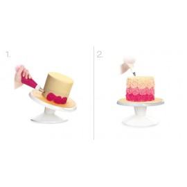 Suporte - base- prato rotativo para decorar rotativa Tescoma (bailarina)