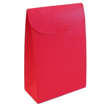 Caixa com pala vermelha 90x45x130 mm
