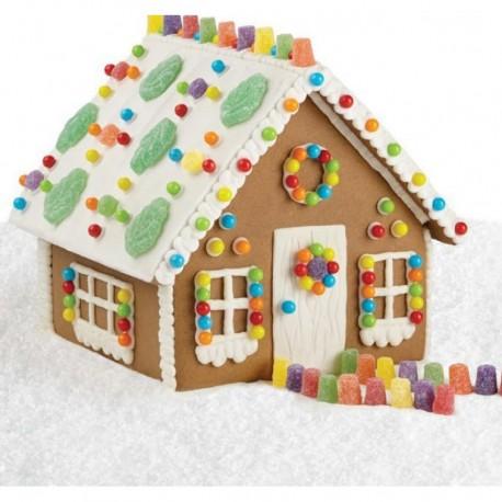Cortante casa de gengibre - 3 peças