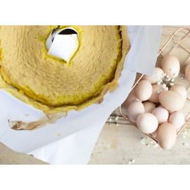 Conj. 3 folhas Papel almaço para pão de ló tradicional