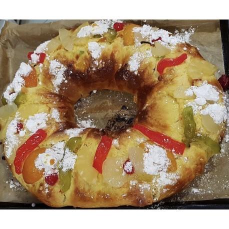 Preparado para bolo Rei - Croissant - bola carne - 500 gr.