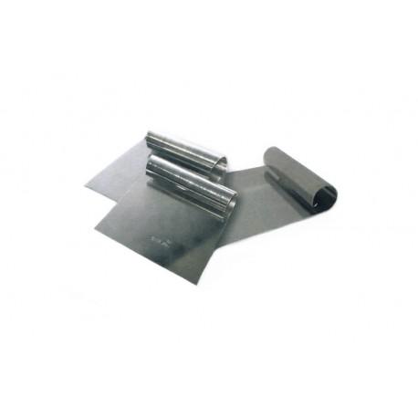 Raspador inox 18/10 com 13,5x15 cms