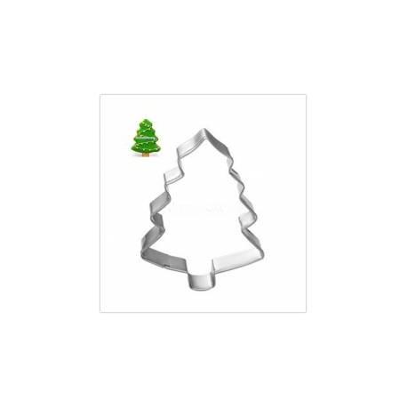 Corta massas árvore de natal mini 4 cm- pinheiro - stadter