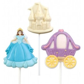 Molde Bombons Lollipop Princesa Wilton