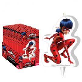Vela lady bug miraculous Dekora