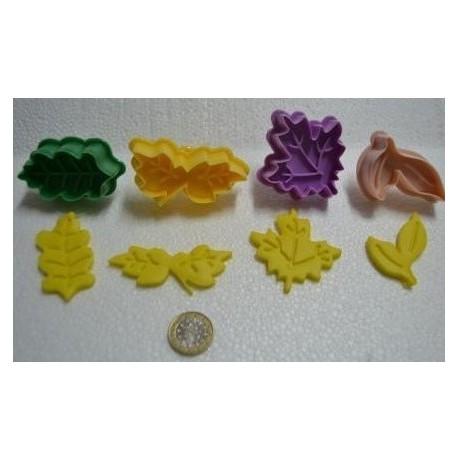 Marcador - cortante de folhas - 4 motivos diferentes