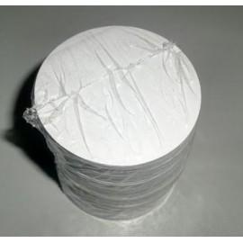Bases - fundo papel bolo de arroz - 1000 unid. - 6 cms
