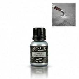 Corante líquido metalizado prata claro 25 ml