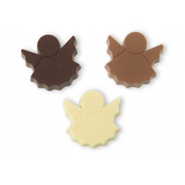Molde chocolate policarbonato anjo Decora