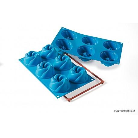 Molde Silicone Vetrigo Silikomart semifrio