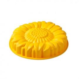 Forma - Molde silicone diâmetro 26 cms flor girassol Pavonidea