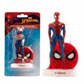 Vela homem aranha 3D Dekora