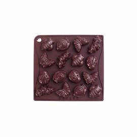 Molde chocolate primavera animais Pavonidea