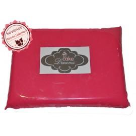 Pasta de açúcar Rosa Choque 1 kg sabor sugo-chiclet