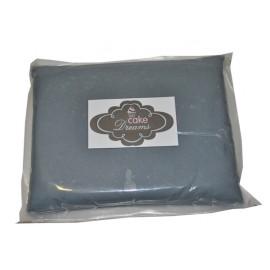 Pasta de açúcar Cinza 1 kg sabor tradicional
