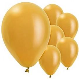 Balão liso dourado