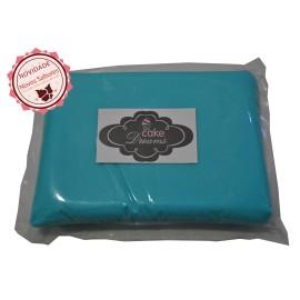 Pasta de açúcar Azul Céu 1 kg sabor sugo - chiclet