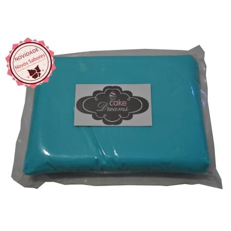 Pasta de açúcar Azul Céu 1 kg sabor tradicional