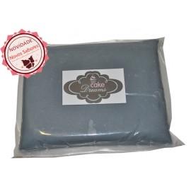Pasta de açúcar Cinza 1 kg sabor sugo chiclet