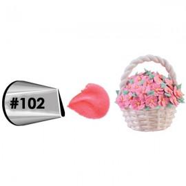 Bico (boquilha) pétala 102 Wilton
